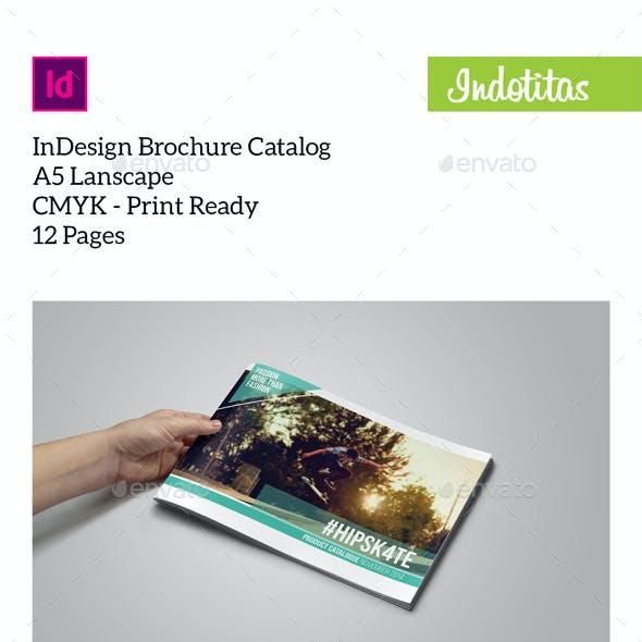 Brochure Catalogs A5 Lanscape