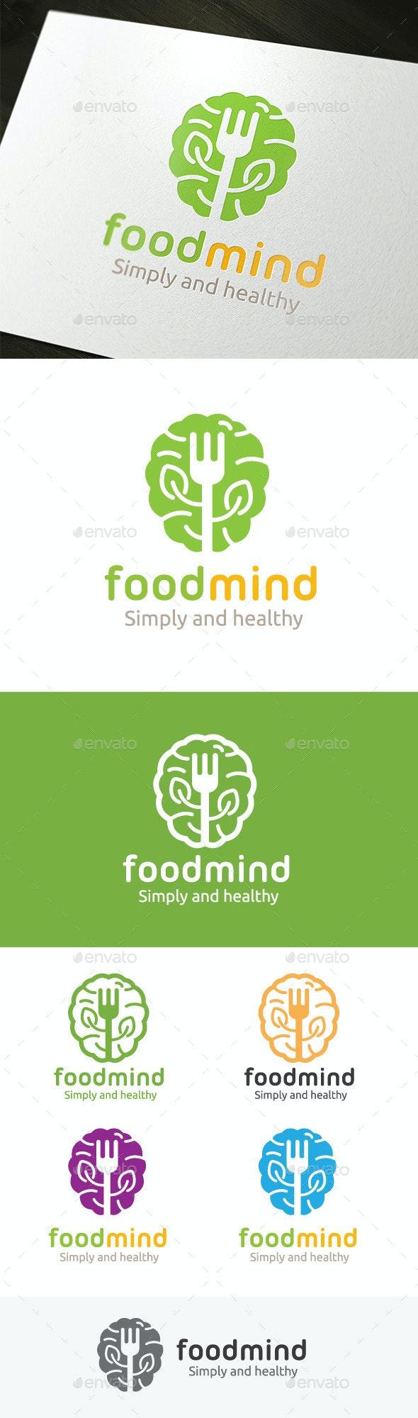 Food Mind - Food Logo Templates