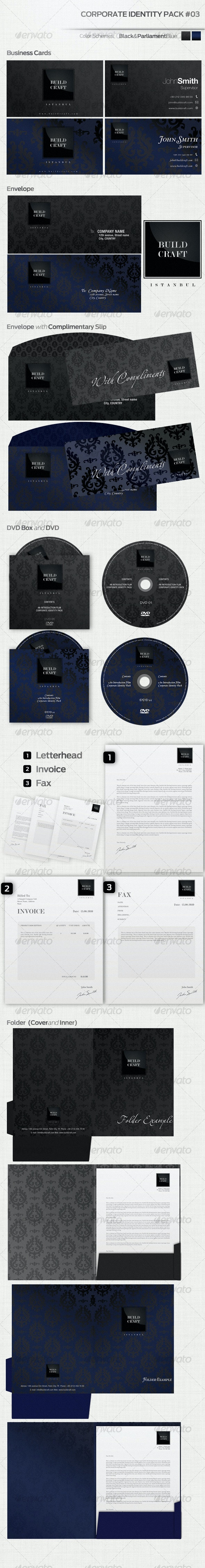 Corporate Identity Pack #03 - Stationery Print Templates