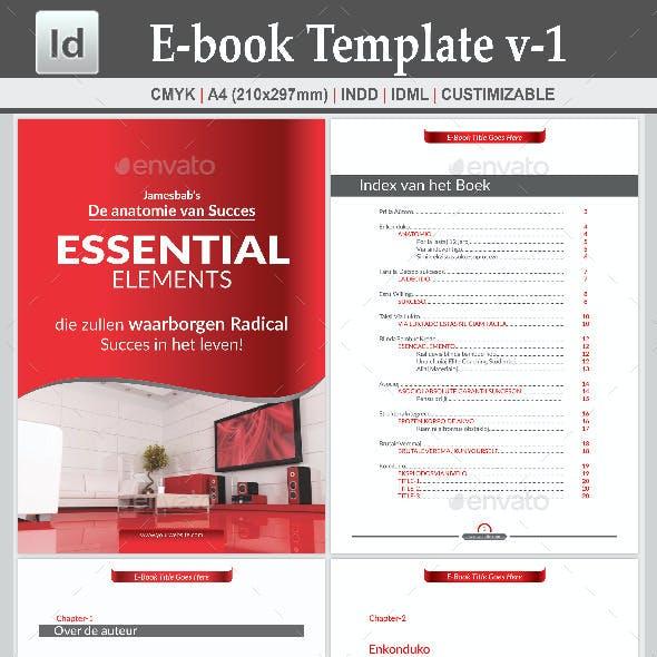 E-book Template v-1