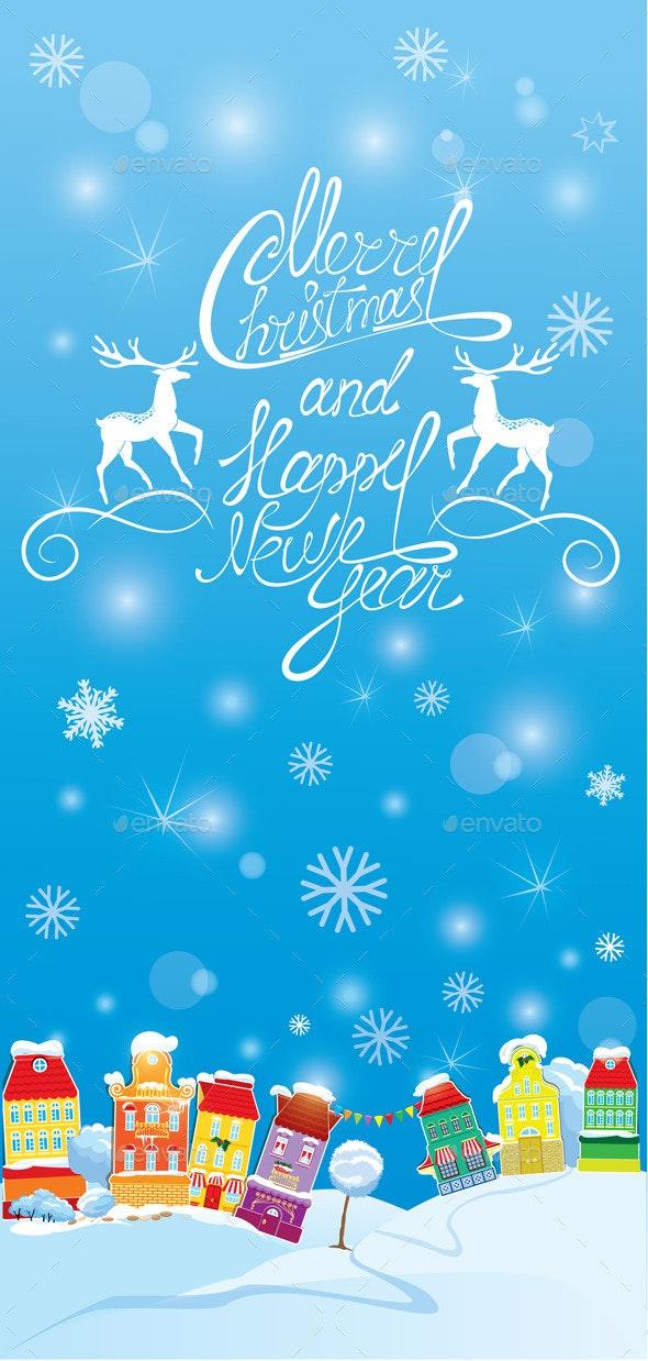 Winter Holidays Card  - Seasons/Holidays Conceptual