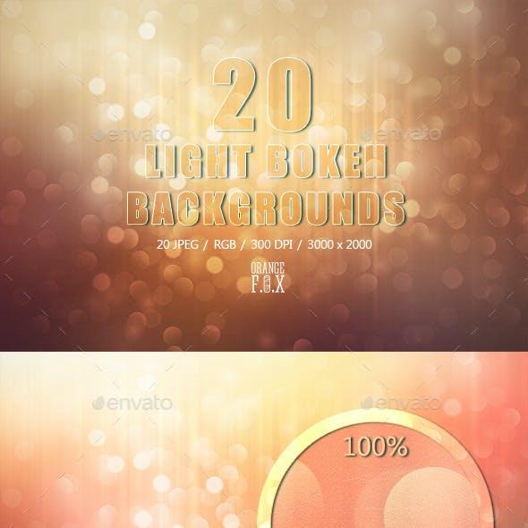 20 Light Bokeh Backgrounds