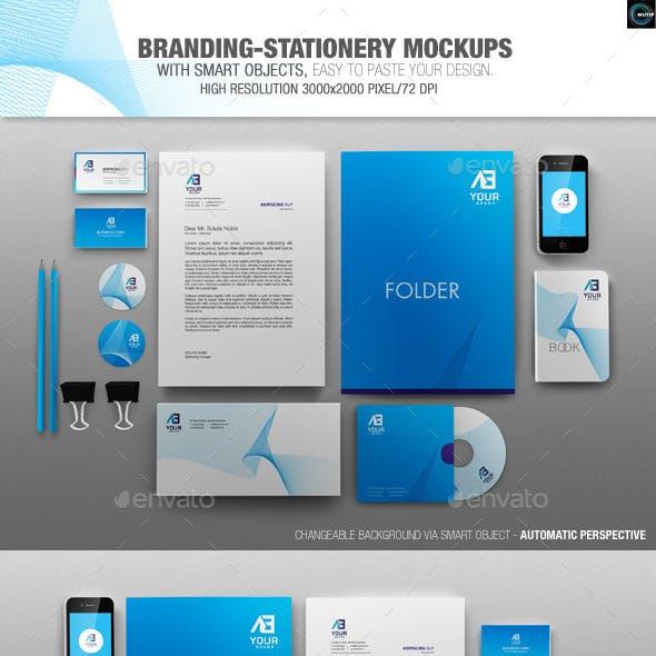 Branding-Stationery Mockups