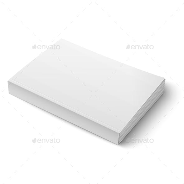 Blank Softcover Book Template