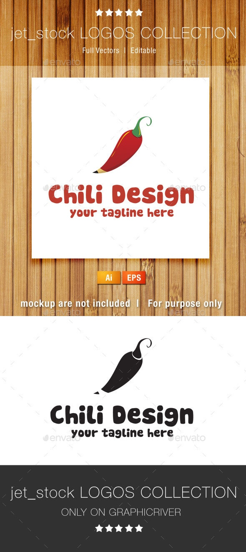 Chili Design - Objects Logo Templates