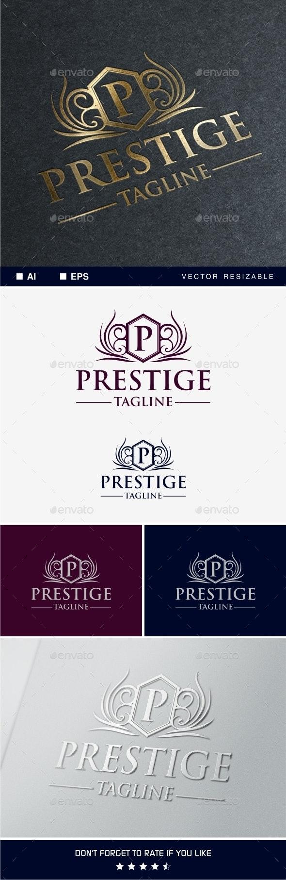 Prestige Logo Template - Crests Logo Templates