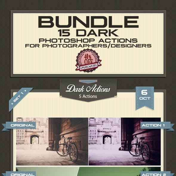 Dark Actions - Bundle