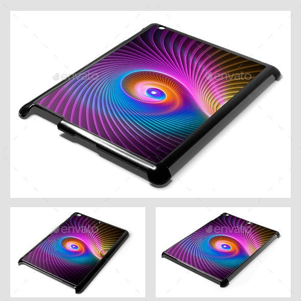 Tablet/Pad Mini/Retina/Air/2/3/4 Sublimation Covers Mock-Up