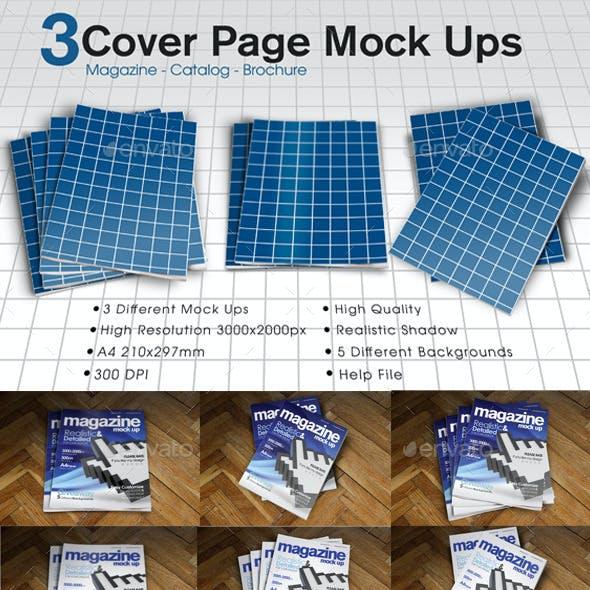 A4 Magazine / Catalog Mock Up