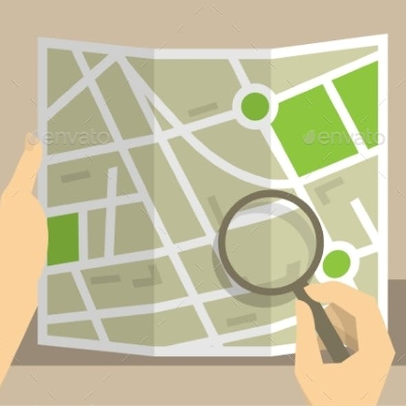 Search on Map
