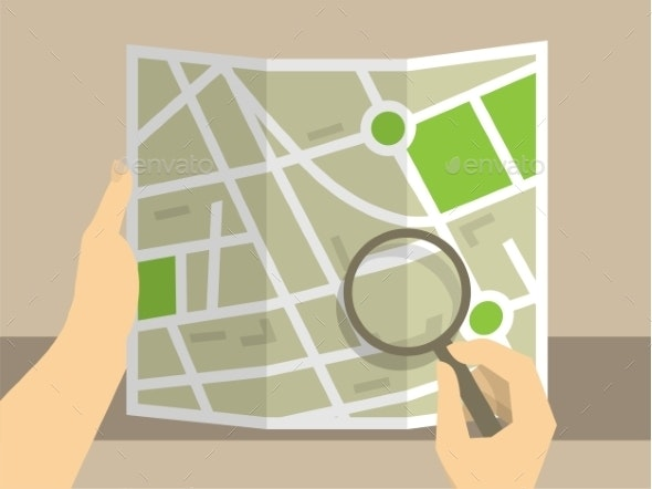 Search on Map - People Characters