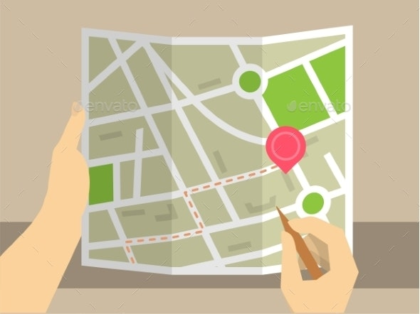 Search on Map - Buildings Objects