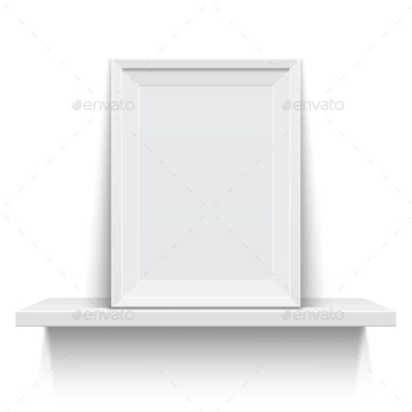Picture Frame on Shelf
