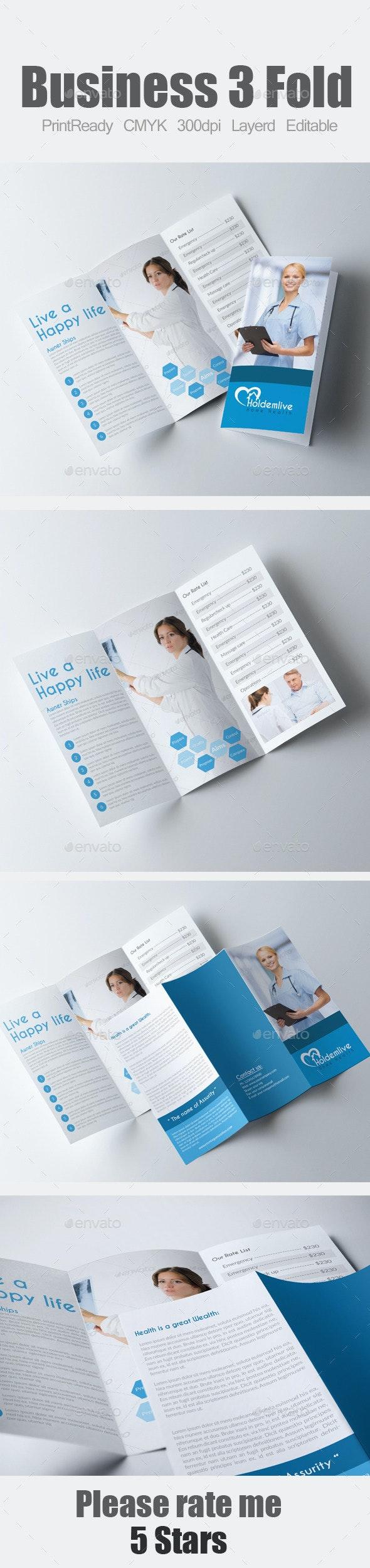 Medical Tri Fold Brochure - Corporate Brochures