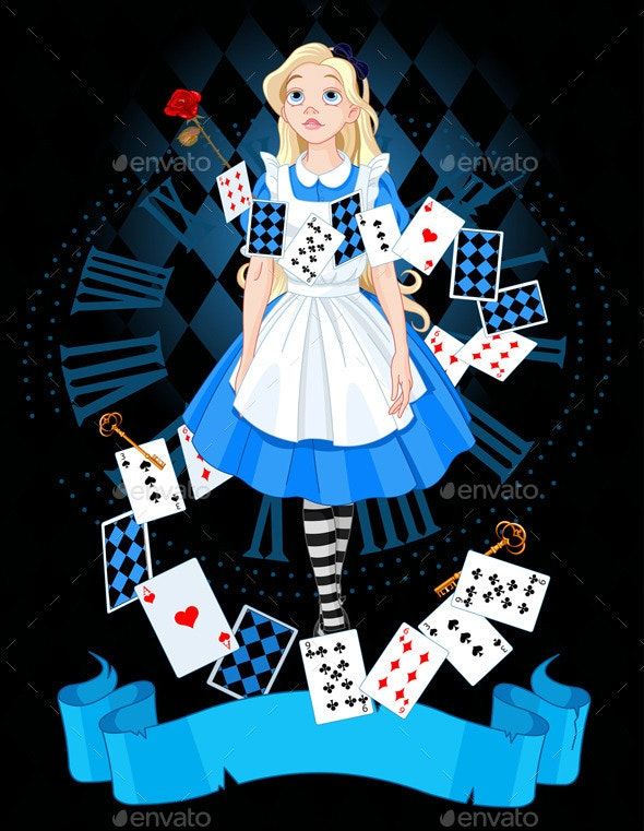 Alice in Wonderland - People Characters