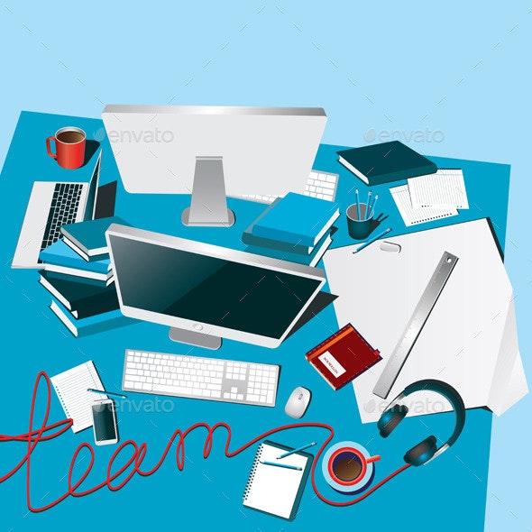 Teamwork - Conceptual Vectors