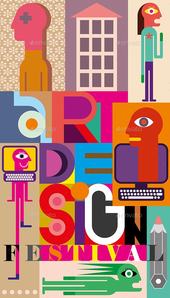 Art Design Festival - People Characters