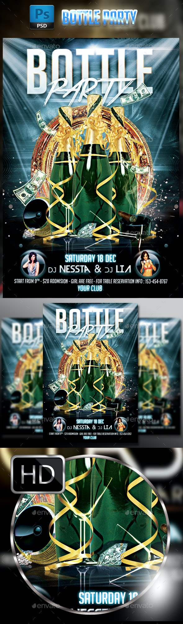 Bottle Party - Clubs & Parties Events