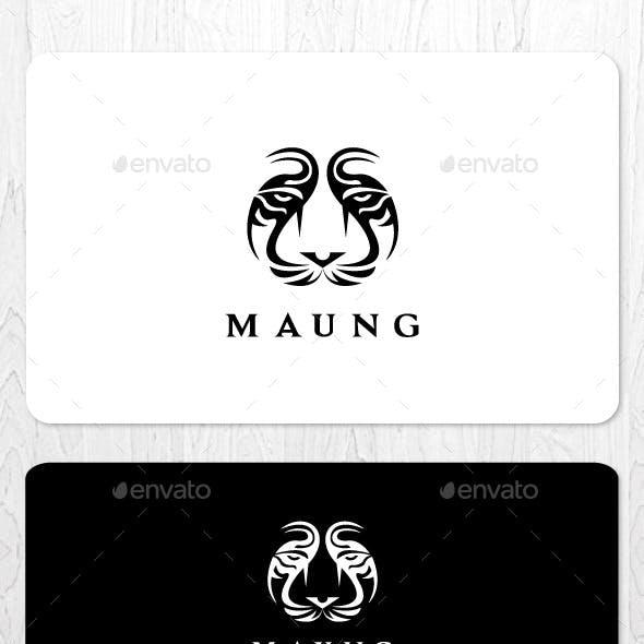 Tiger Face Logo