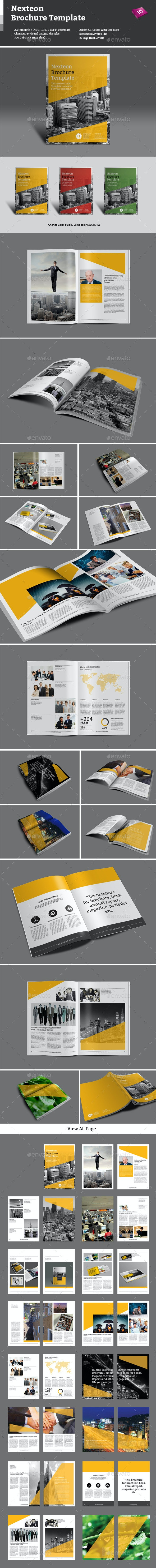 Nexteon Brochure Template - Corporate Brochures