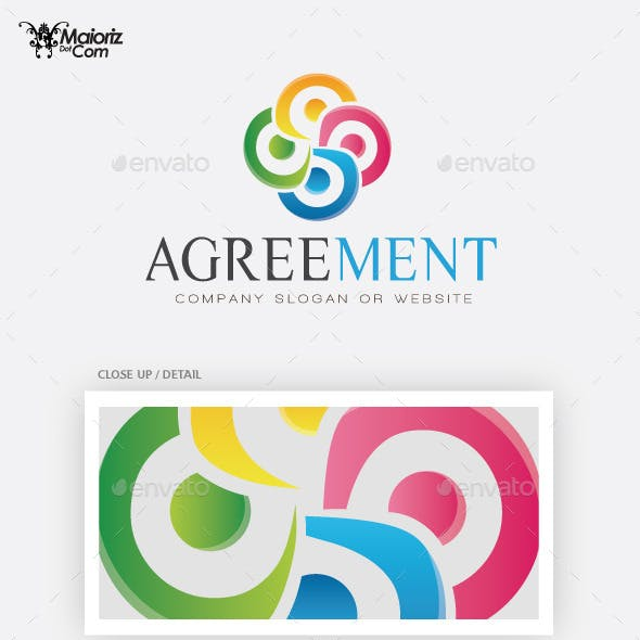 Agreement Logo Template