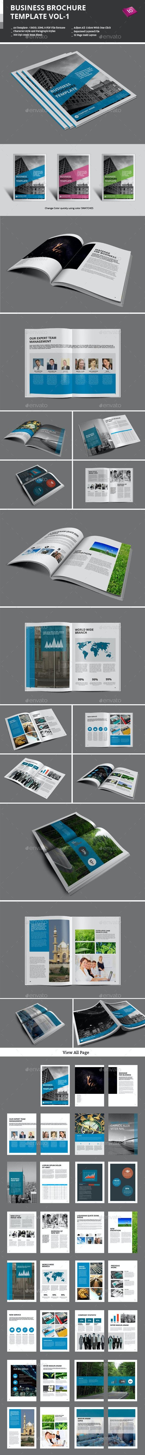 Business Brochure Templates Vol-1 - Corporate Brochures