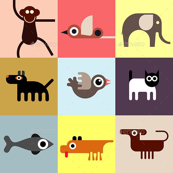 Animals and Pets - Animals Characters