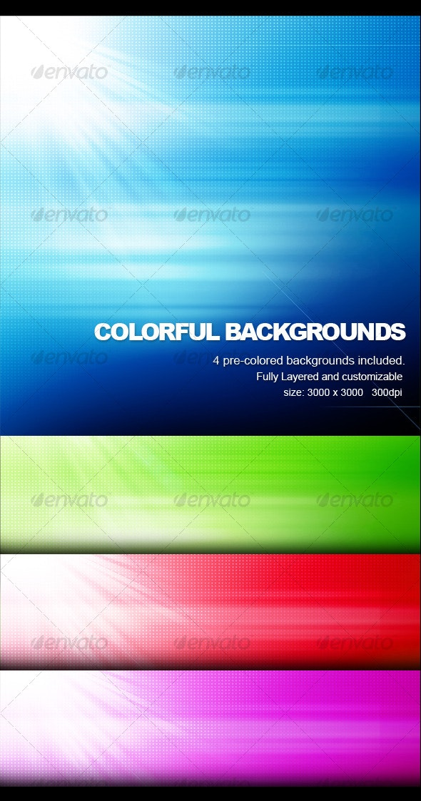 Colorful Background - Miscellaneous Backgrounds
