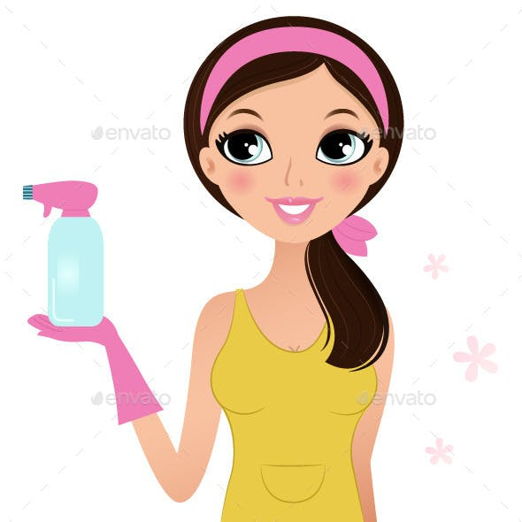 Cleaning Woman
