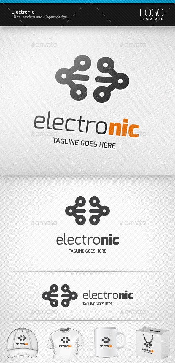 Electronic Logo - Symbols Logo Templates