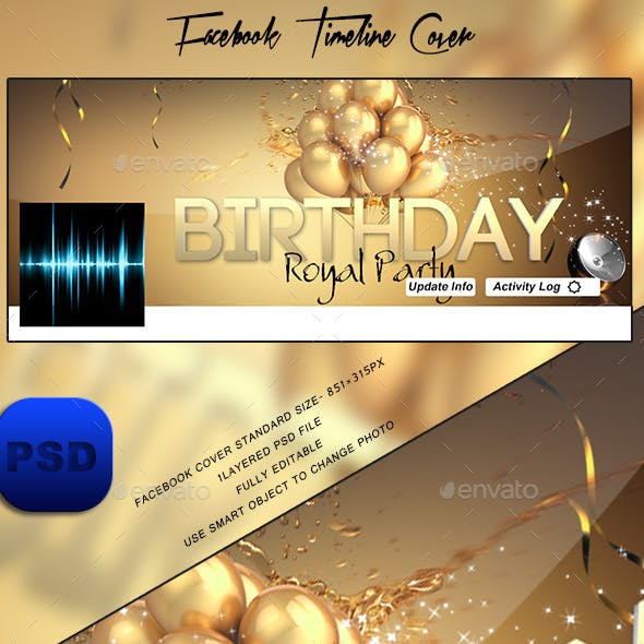 Birthday Timeline Cover