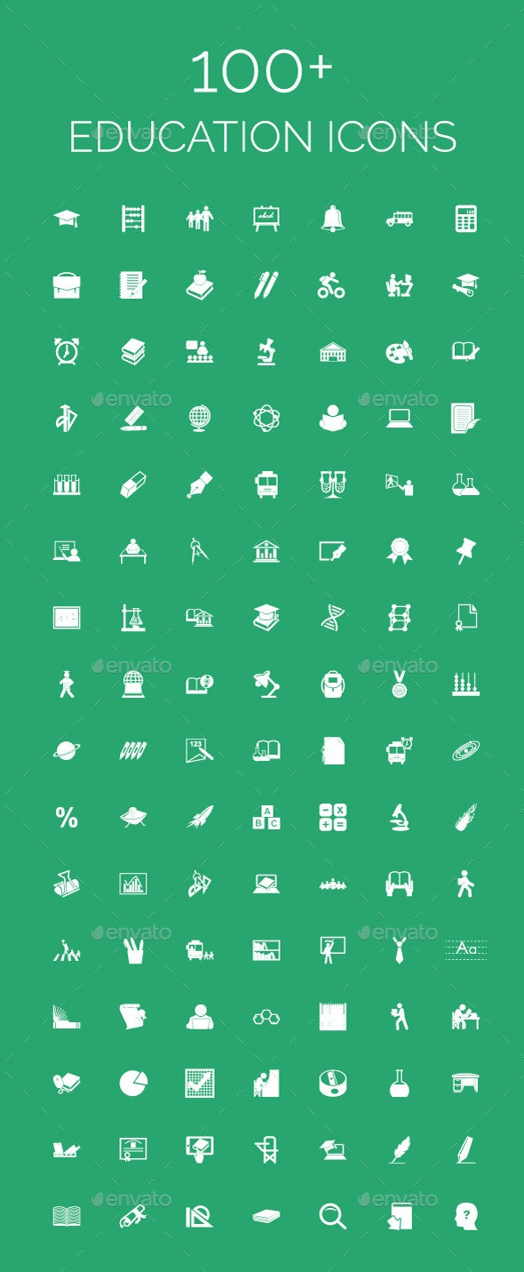 100+ Education Icons - Icons