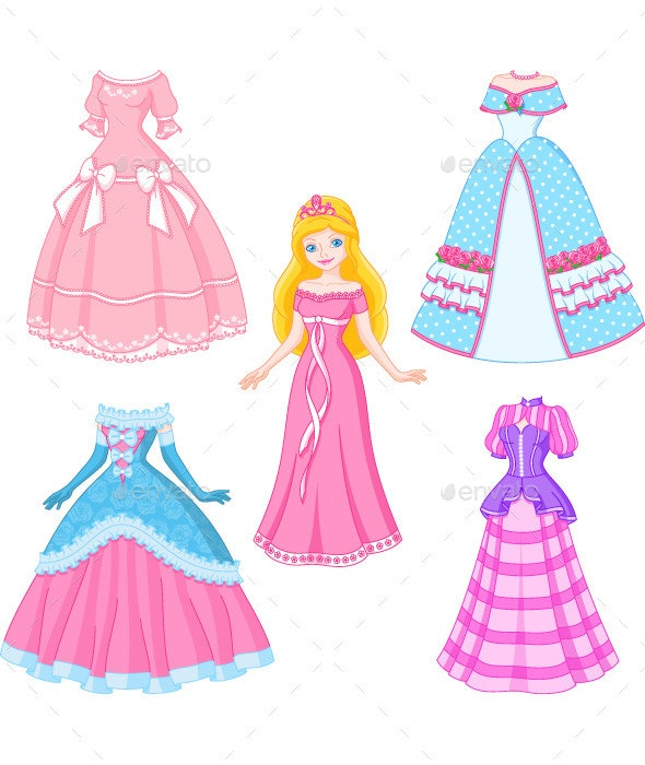 Princess Doll - People Characters