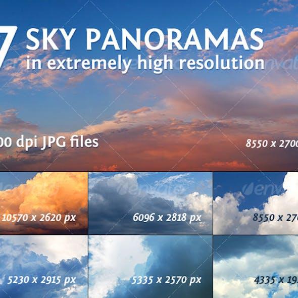7 Sky Panoramas