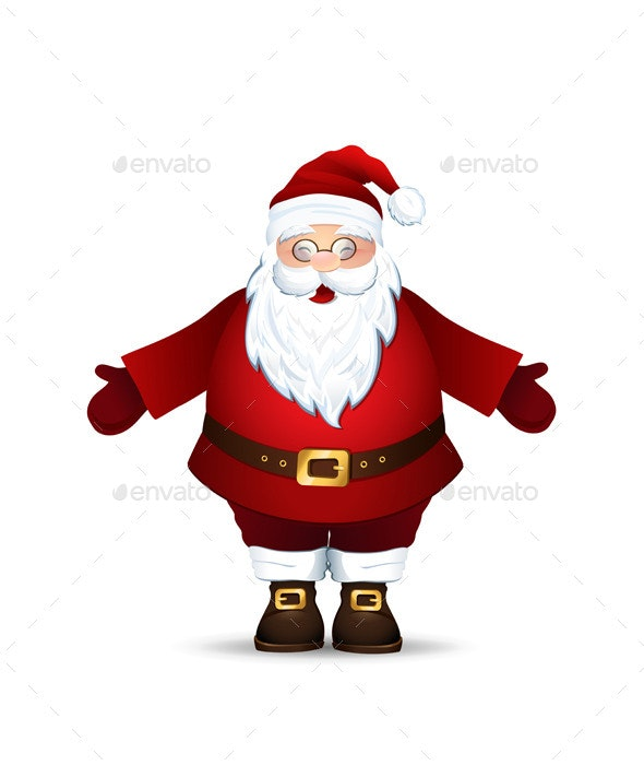 Merry Santa Claus - Christmas Seasons/Holidays