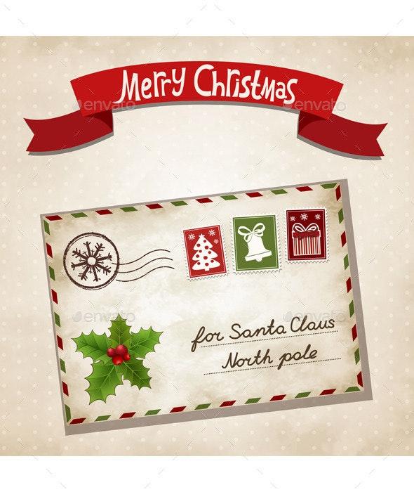 Christmas Letter - Christmas Seasons/Holidays