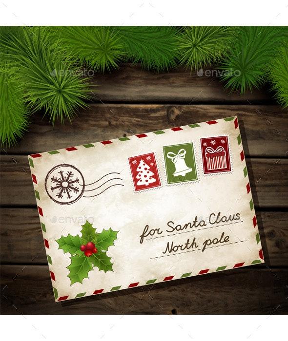 Letter to Santa Claus - Christmas Seasons/Holidays