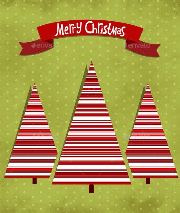 Xmas Tree - Christmas Seasons/Holidays