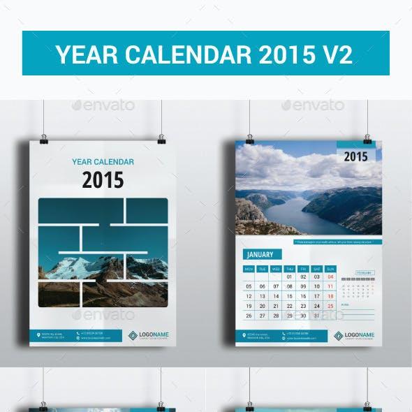 Year Calendar 2015 V2