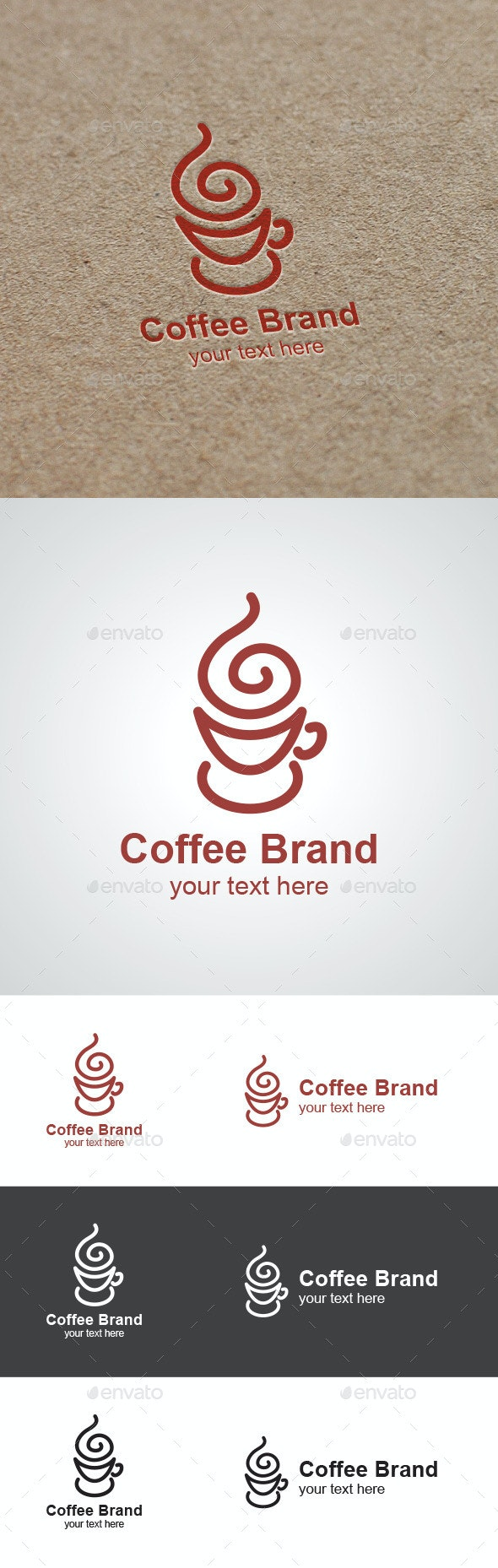 Coffee Brand Logo