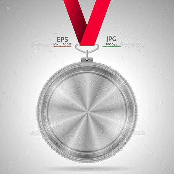 Silver Medal - Sports/Activity Conceptual