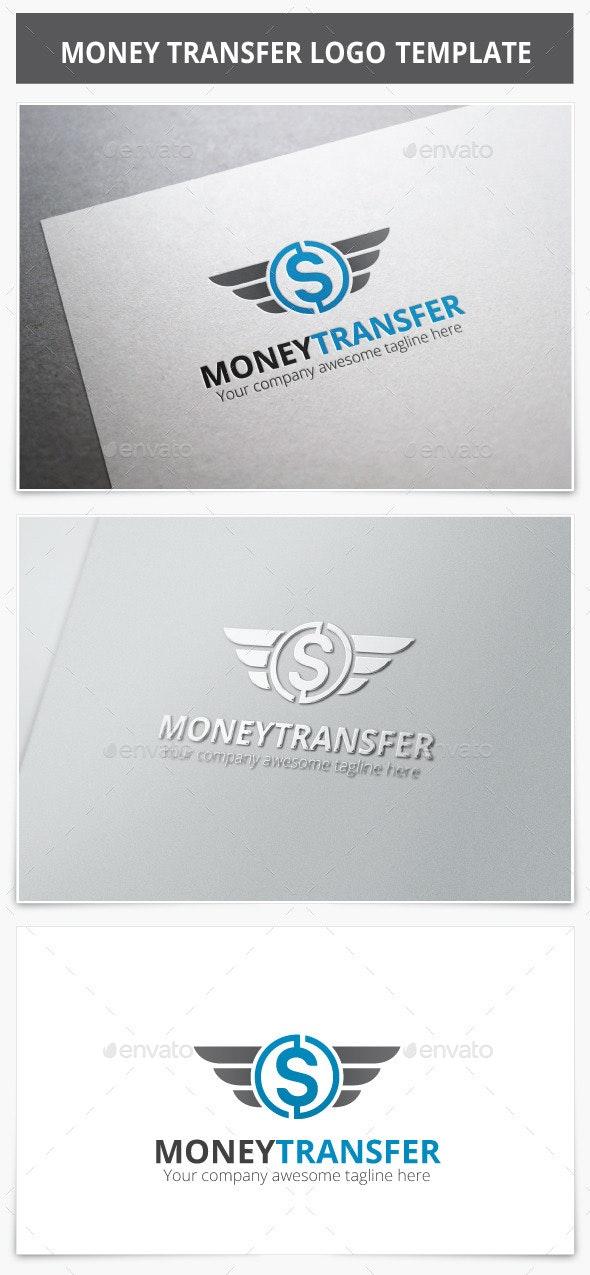 Money Transfer Logo - Vector Abstract