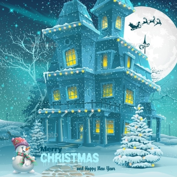 Christmas And New Year Greeting Card - Christmas Seasons/Holidays