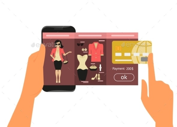 Mobile App for Fashion Shopping - Retail Commercial / Shopping