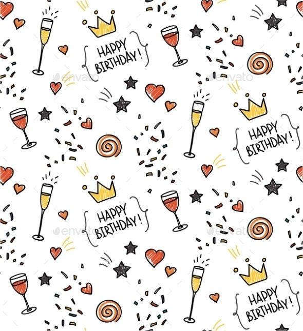 Birthday Pattern - Birthdays Seasons/Holidays