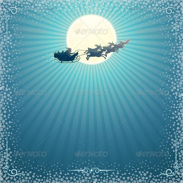 Vector Christmas Card - Characters Vectors
