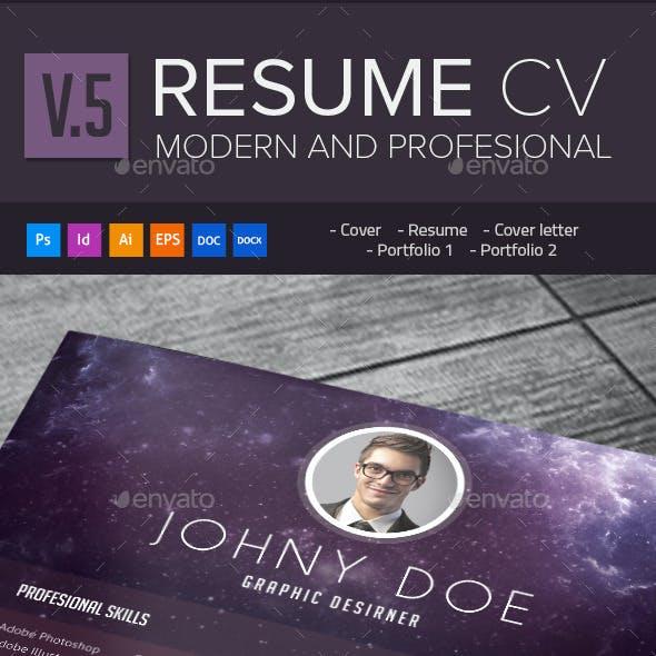 Modern Resume Cv 0.5