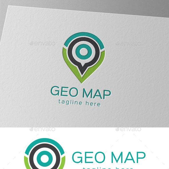 Geo Map Logo