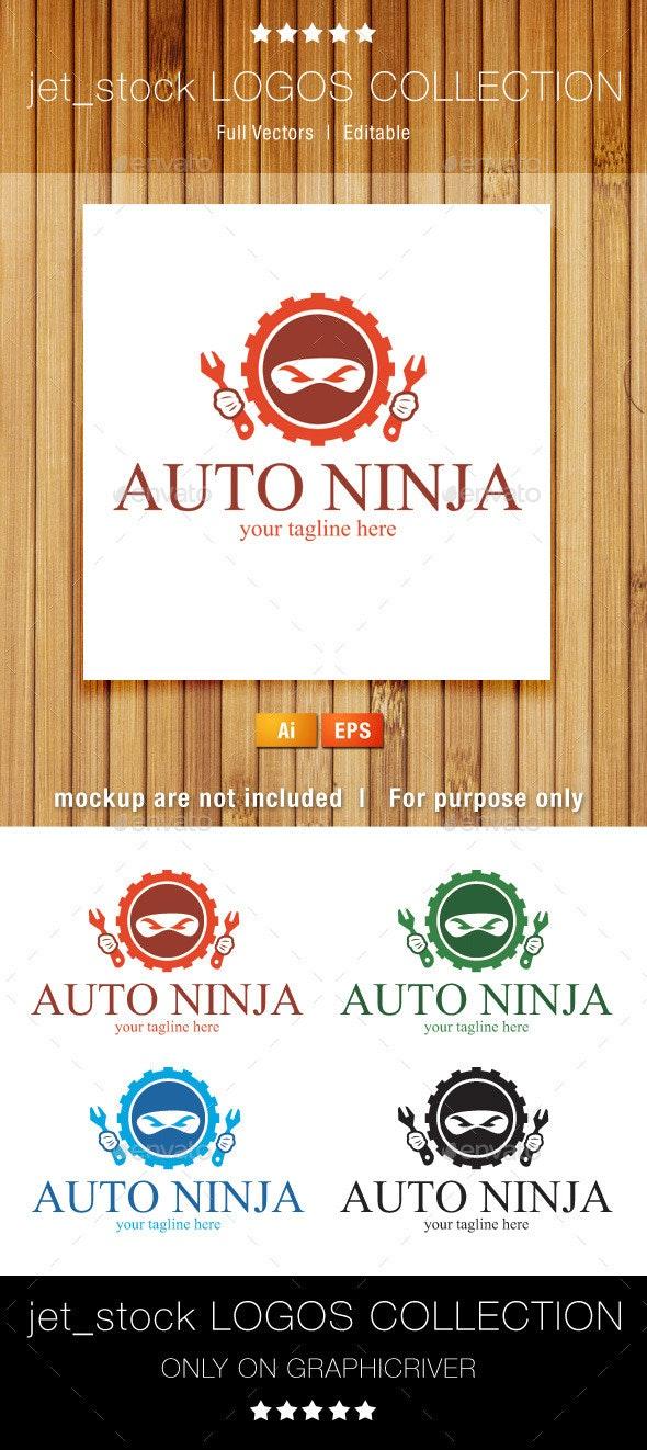 Auto Ninja - Humans Logo Templates