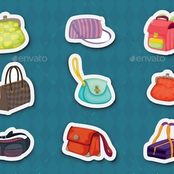 Handbag Stickers